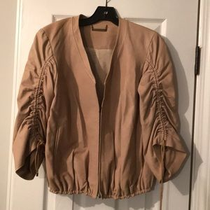 Fashionable Leather Jacket by DVF